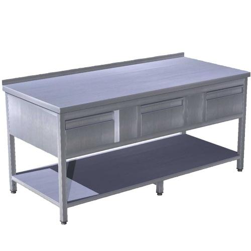 Pracovní stoly se zásuvkami