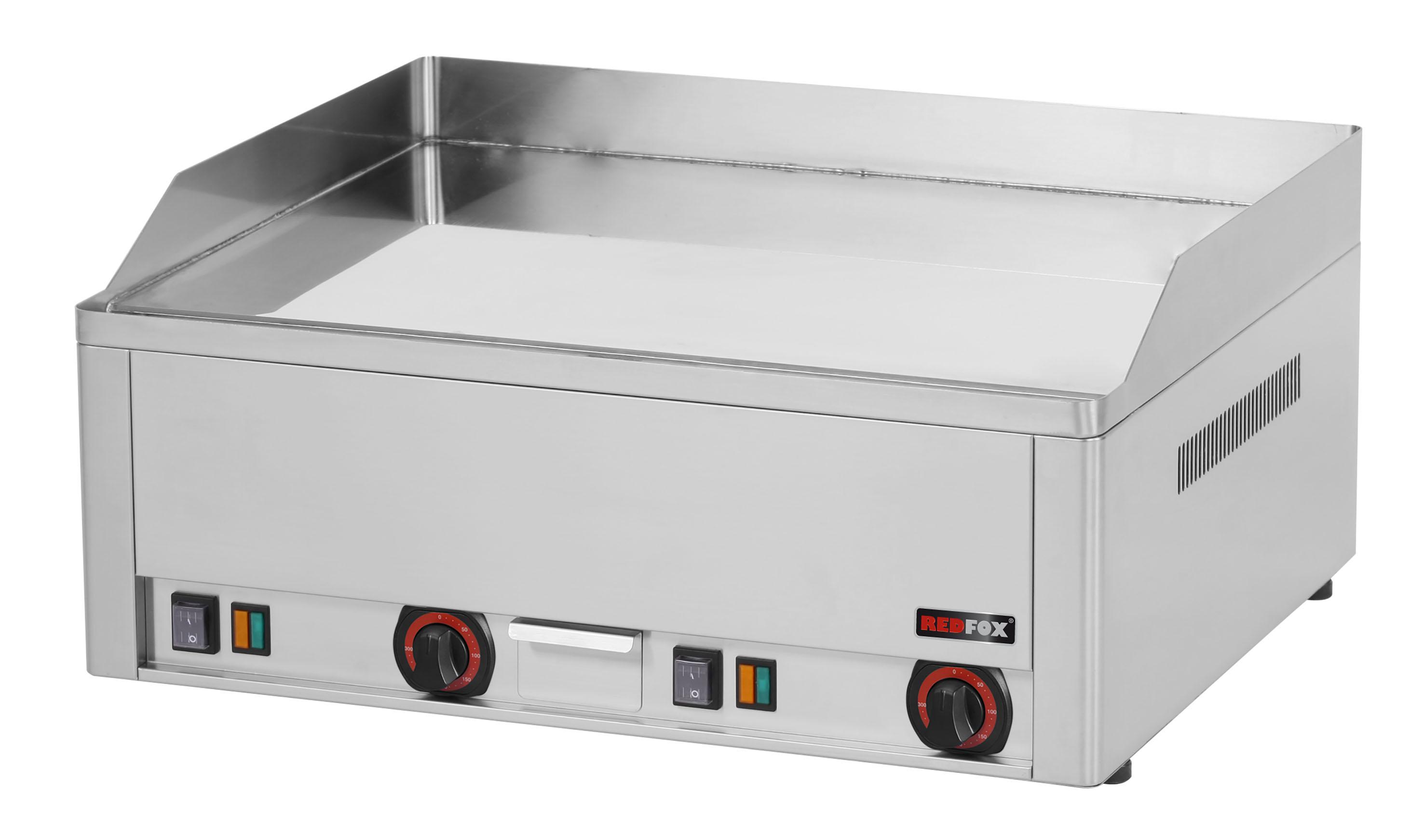 Deska grilovací elektrická FTHC 60 E hladká chrom REDFOX