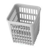 Košík na příbory plast /hranatý