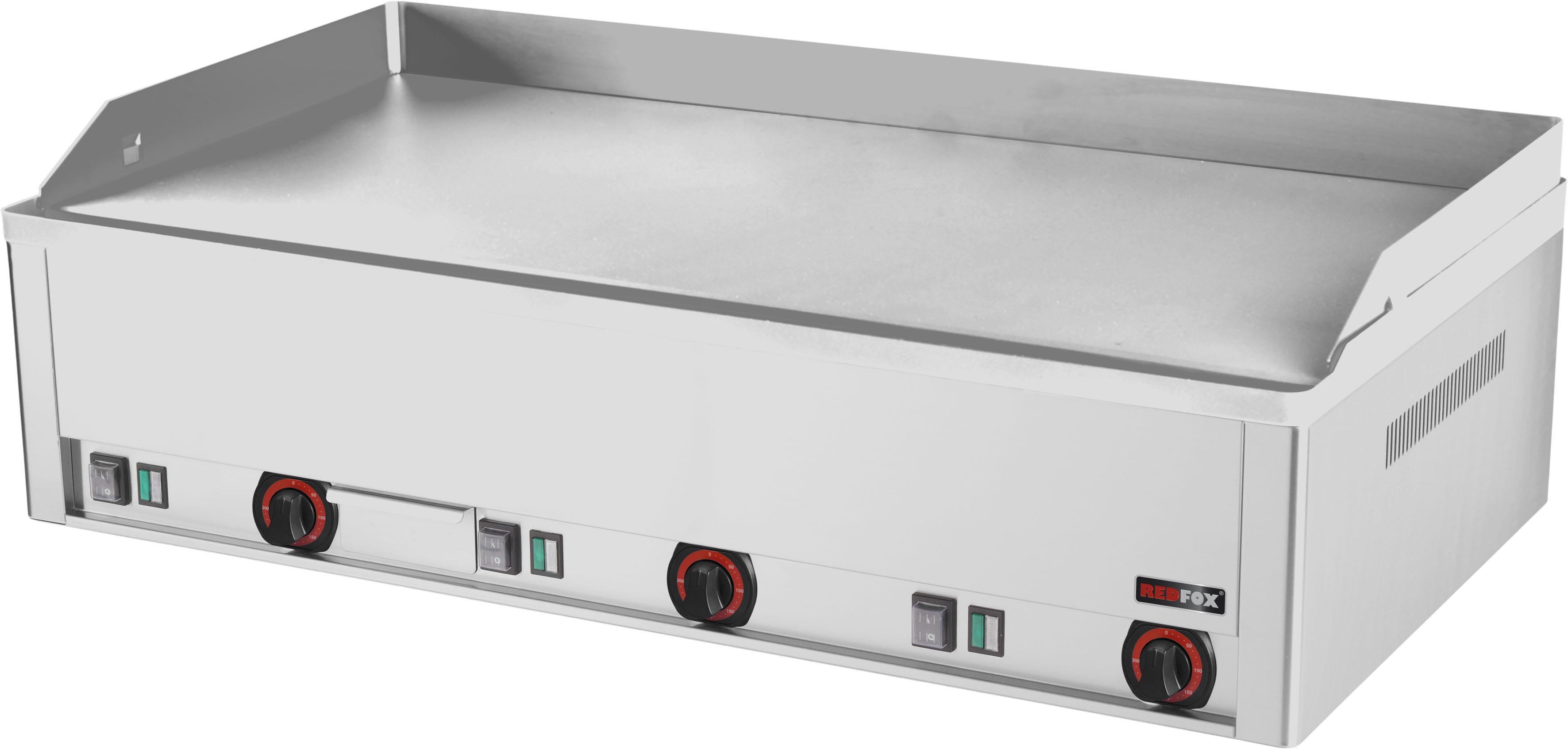 Deska grilovací elektrická FTHC 90 E hladká chrom RedFox