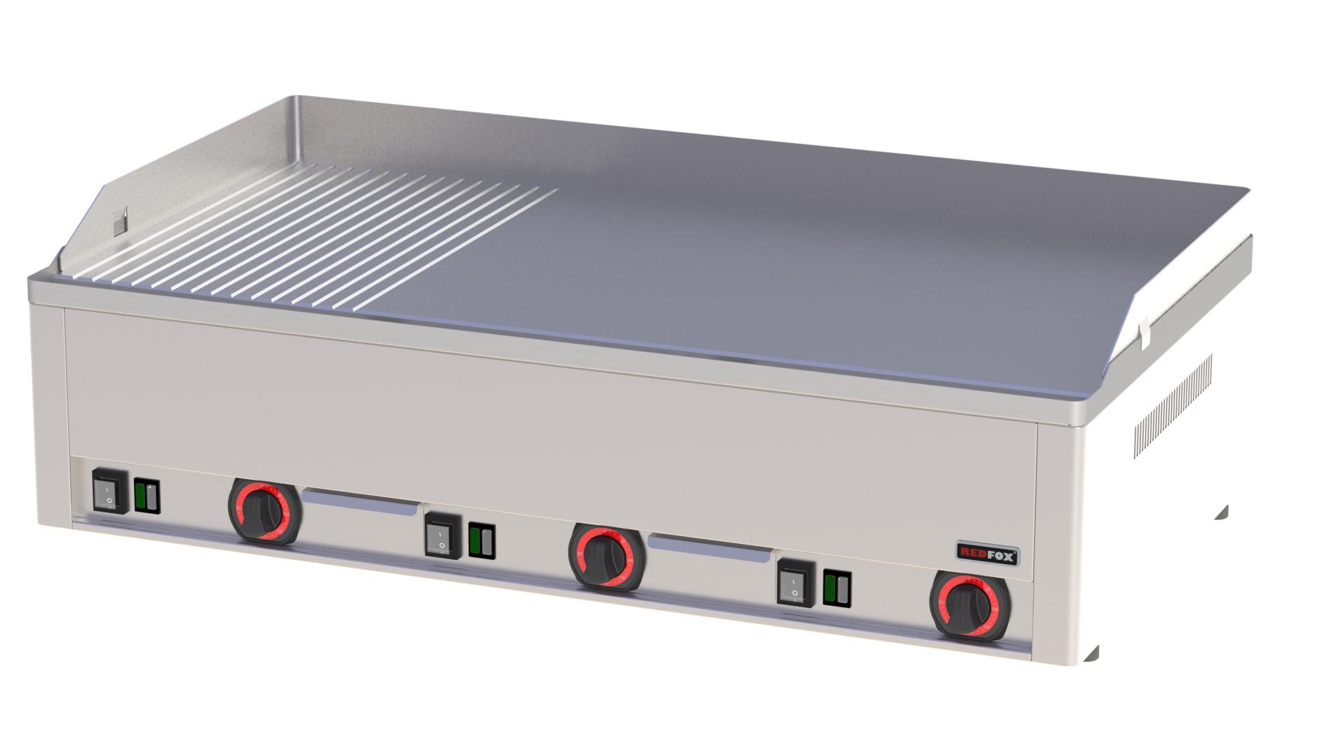 Deska grilovací elektrická FTHR 90 E kombinovaná ocelová RedFox