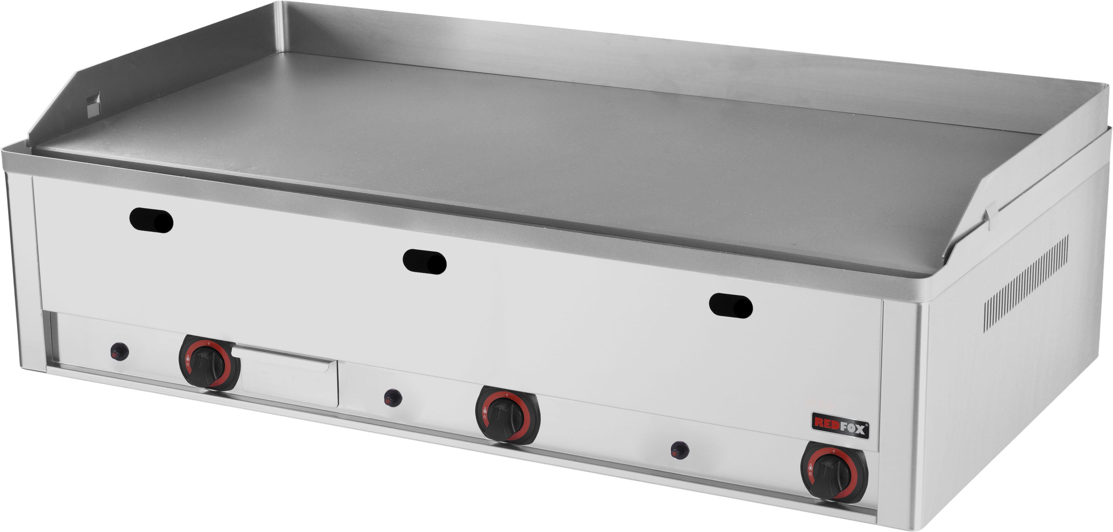 Deska grilovací plynová FTH 90 G hladká ocelová RedFox