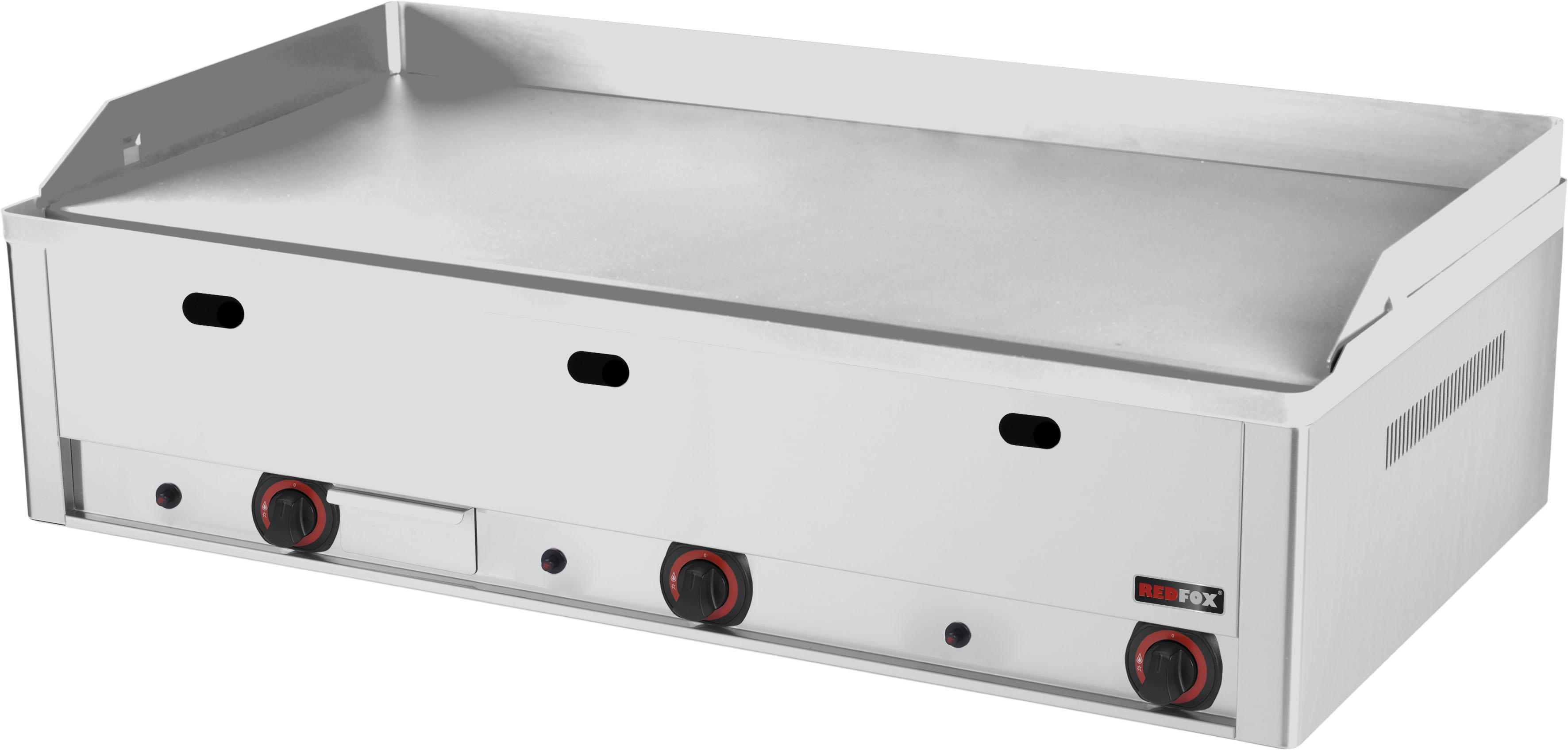 Deska grilovací plynová FTHC 90 G hladká chrom RedFox