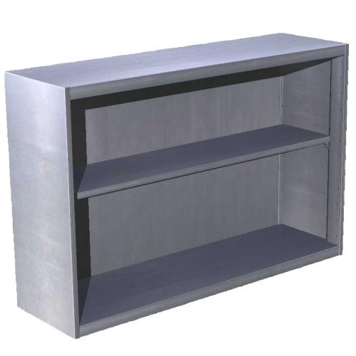 Skříňka závěsná otevřená 150x30