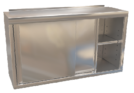 Skříňka závěsná s posuvnými dveřmi 180x30