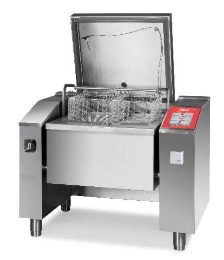 Multifunkční zařízení 1x100l s automat. zdvihem košů MKH 101