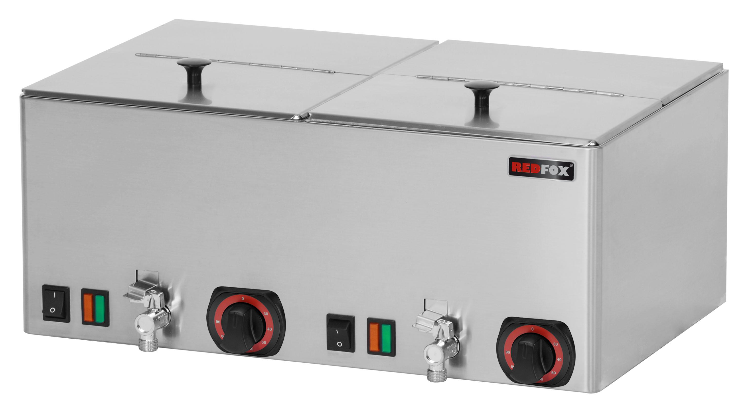 Ohřívač uzenin s výpustí WEV 11 REDFOX
