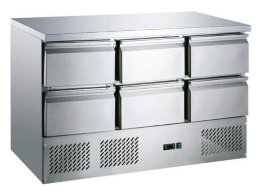 Saladeta 6x zásuvka  MS-1371D6GR