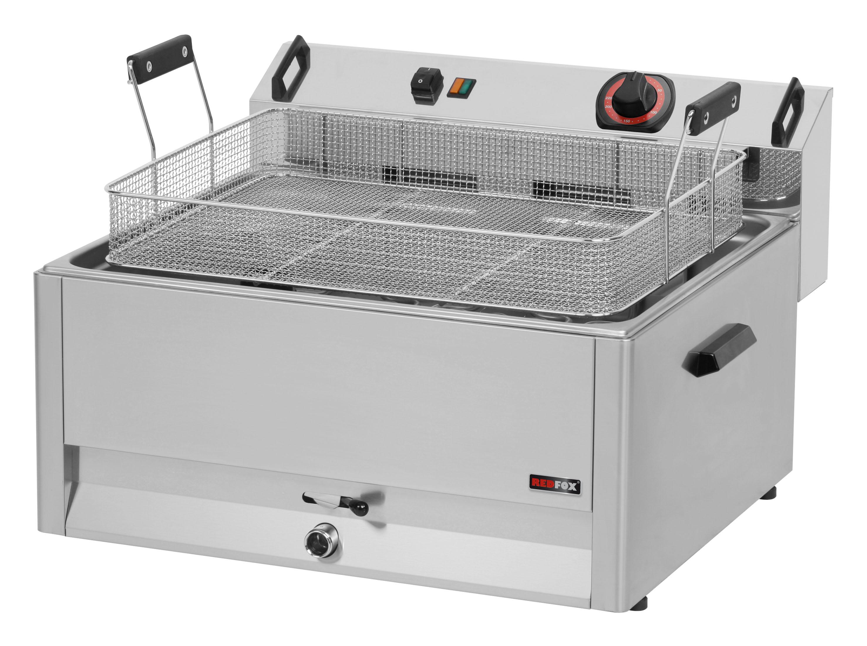 Fritéza elektrická 30 l FE 60 T třífázová REDFOX
