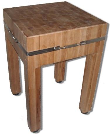 Špalek na maso 70x70  /dřevo