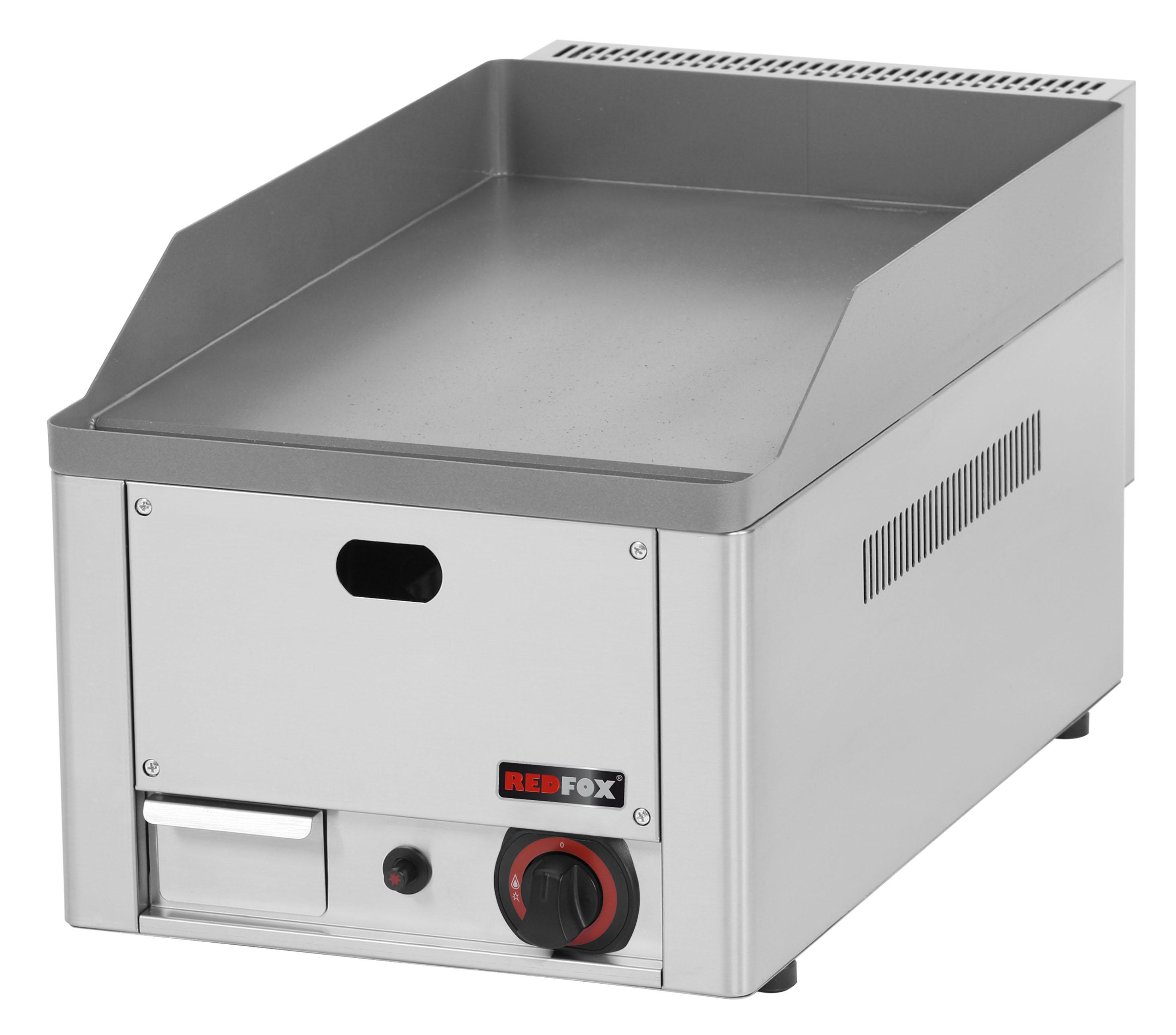 Deska grilovací plynová FTH 30 G hladká ocelová RedFox