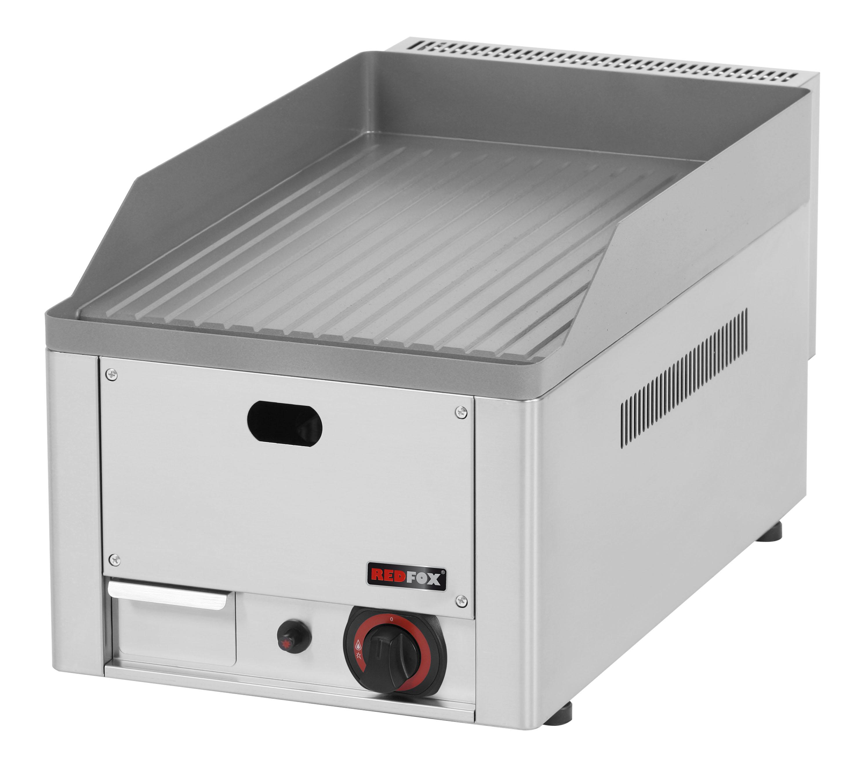 Deska grilovací plynová FTR 30 G rýhovaná ocelová RedFox