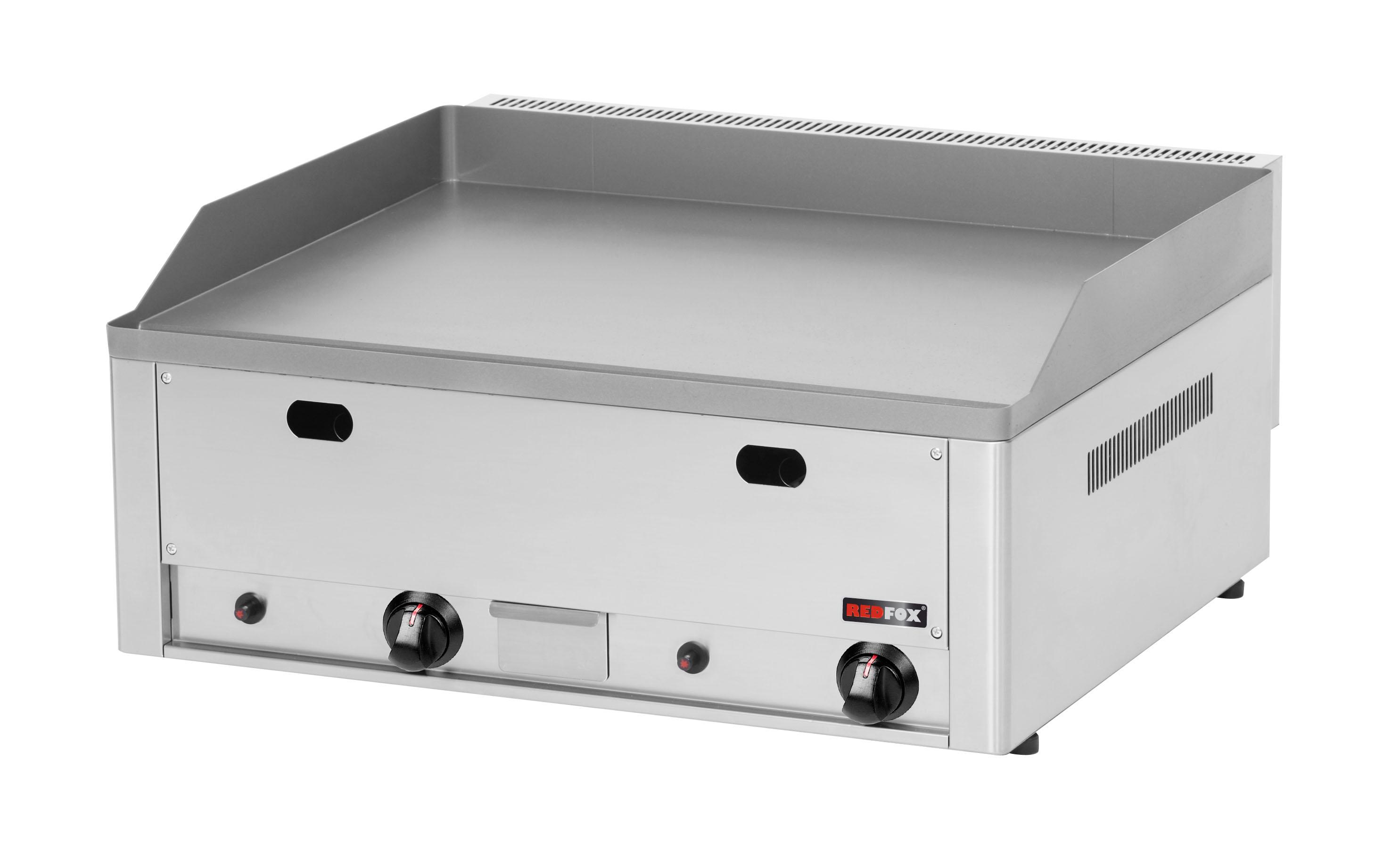 Deska grilovací plynová FTH 60 G hladká ocelová REDFOX