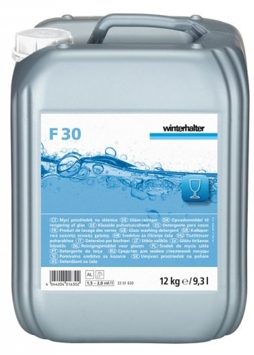 F 30, mycí sklo W  12Kg