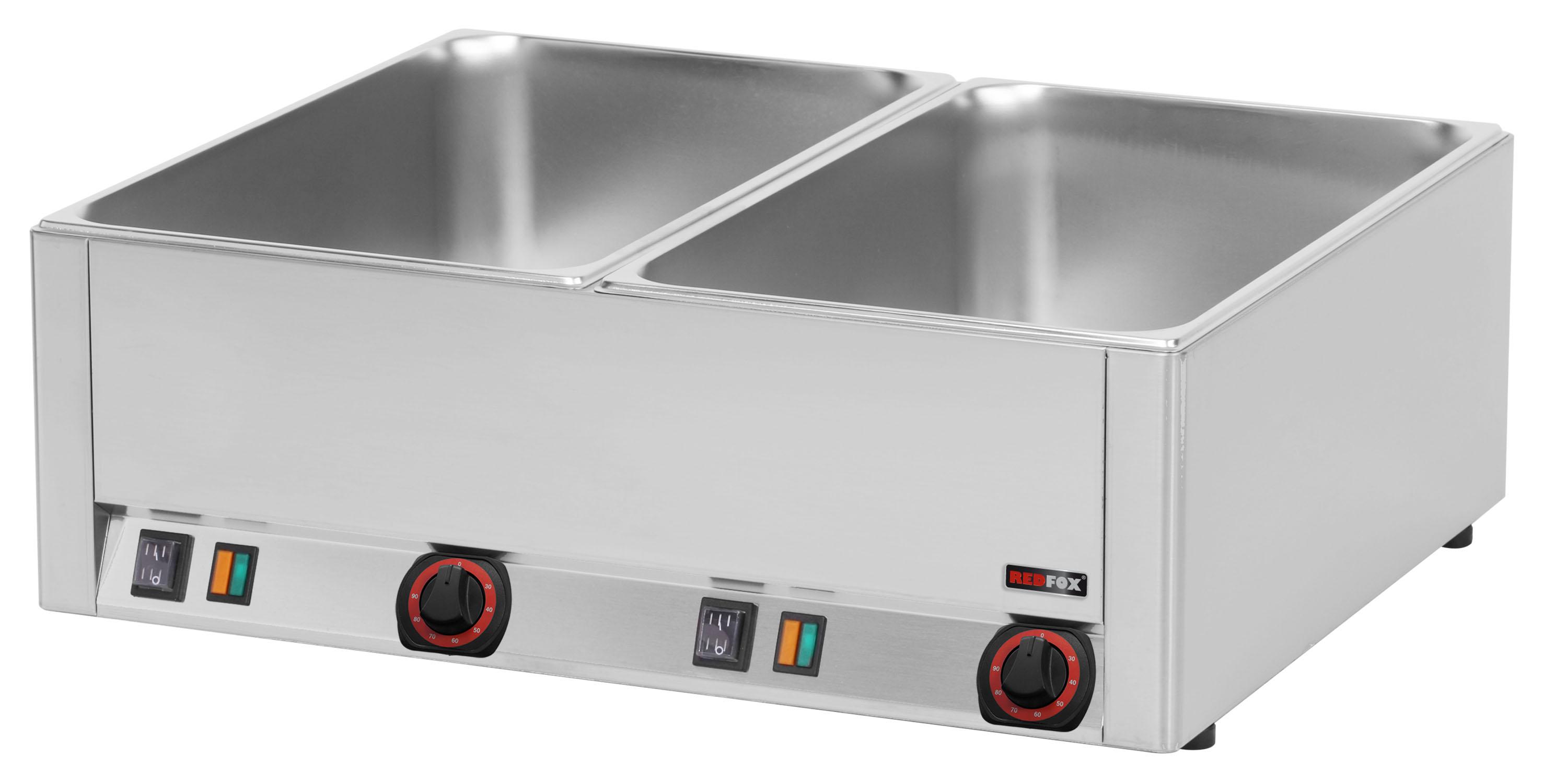 Lázeň vodní elektrická BM 2115 2x GN1/1 RedFox