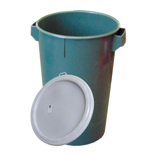 Koš odpad.plastový + víko /60l