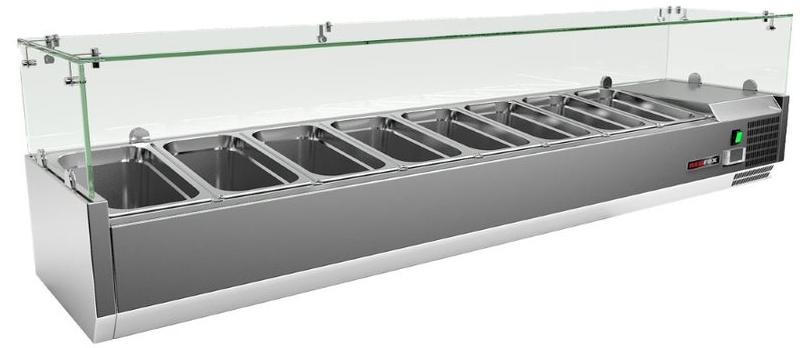 Vitrínka chladící pultová VCH 4140 140 cm REDFOX