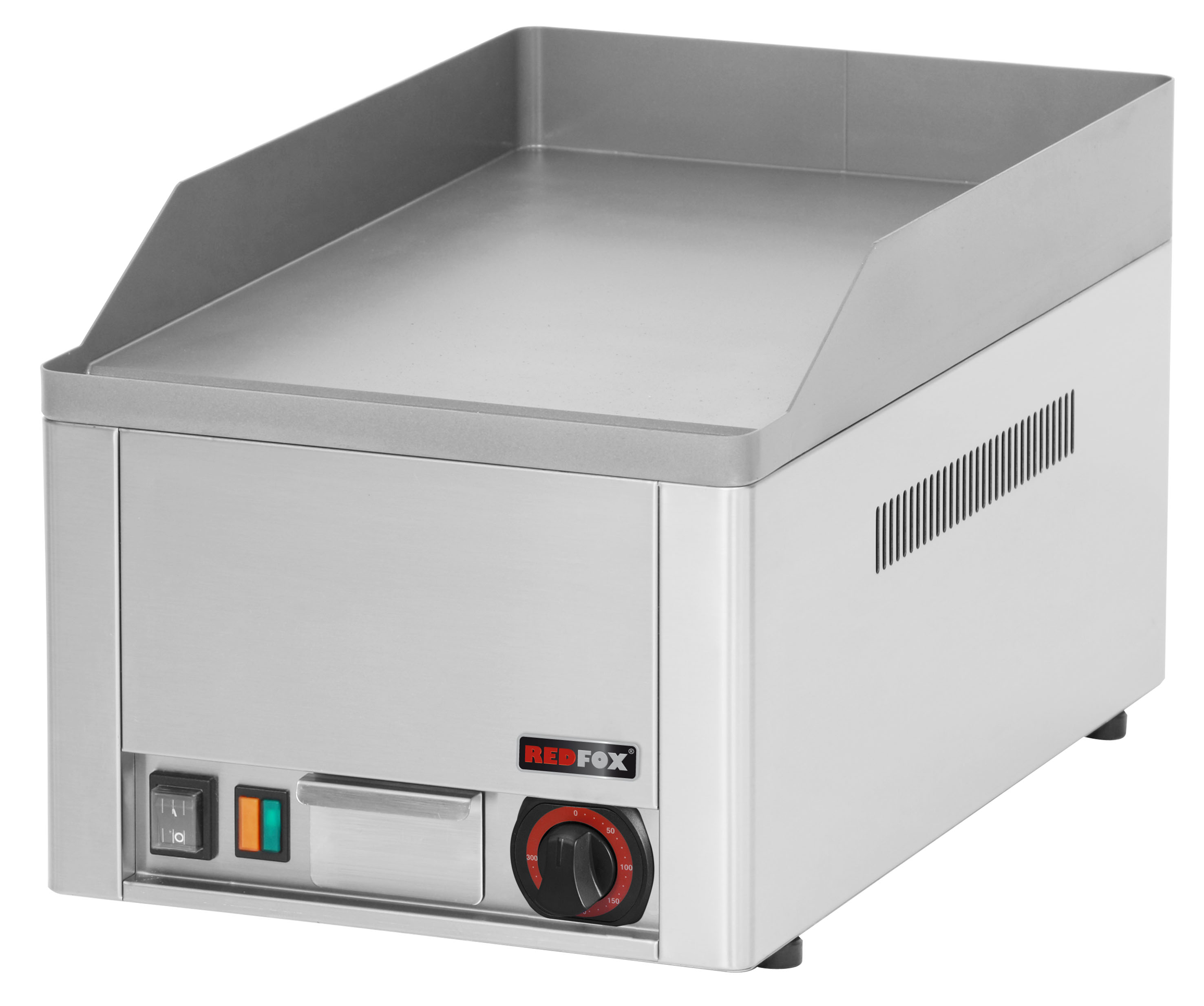 Deska grilovací elektrická FTH 30 E hladká ocelová REDFOX