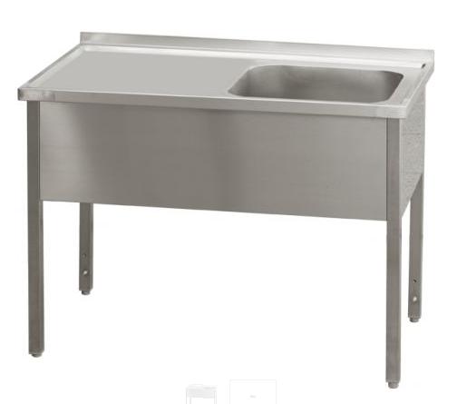 Stůl pracovní jednodřez MSJOL 160x70x90 REDFOX