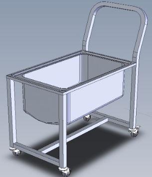Vozík odkládací MW-500