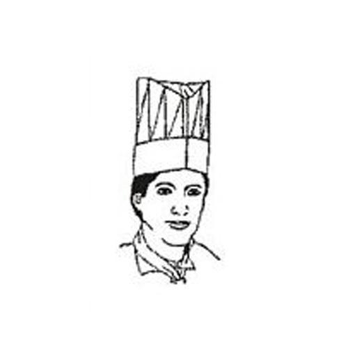 Čepice kuchařská  10 ks /7084