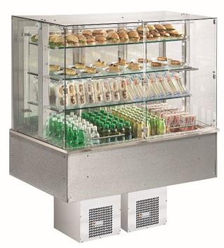 Výdejní vana chladící drop-in SL Platinum+ 3 DF GN3-1/1