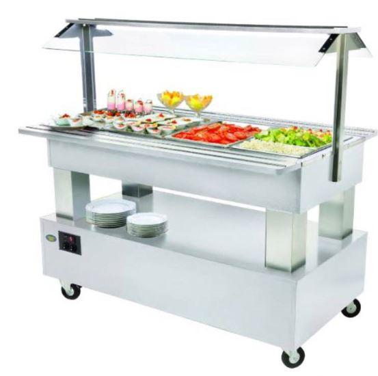 Salátový bar SB 40 M kombinovaný