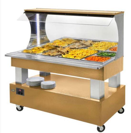 Salátový bar SBM 40 F chlazený přístěnný
