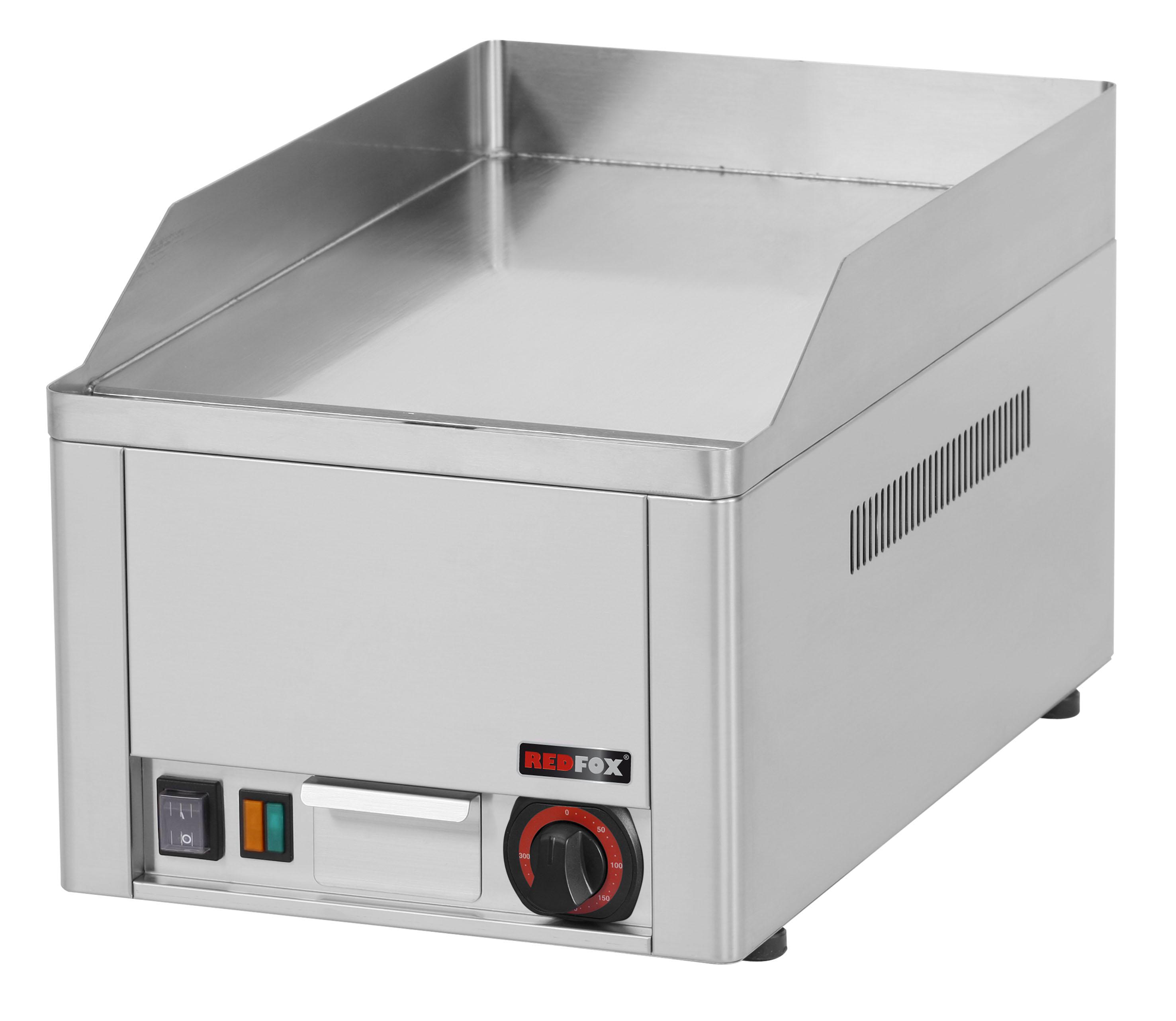 Deska grilovací elektrická FTHC 30 E hladká chrom REDFOX