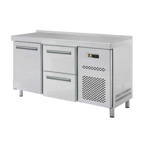 Stůl chladící RT 2D 1x dvířka 1x zásuvkový set REDFOX