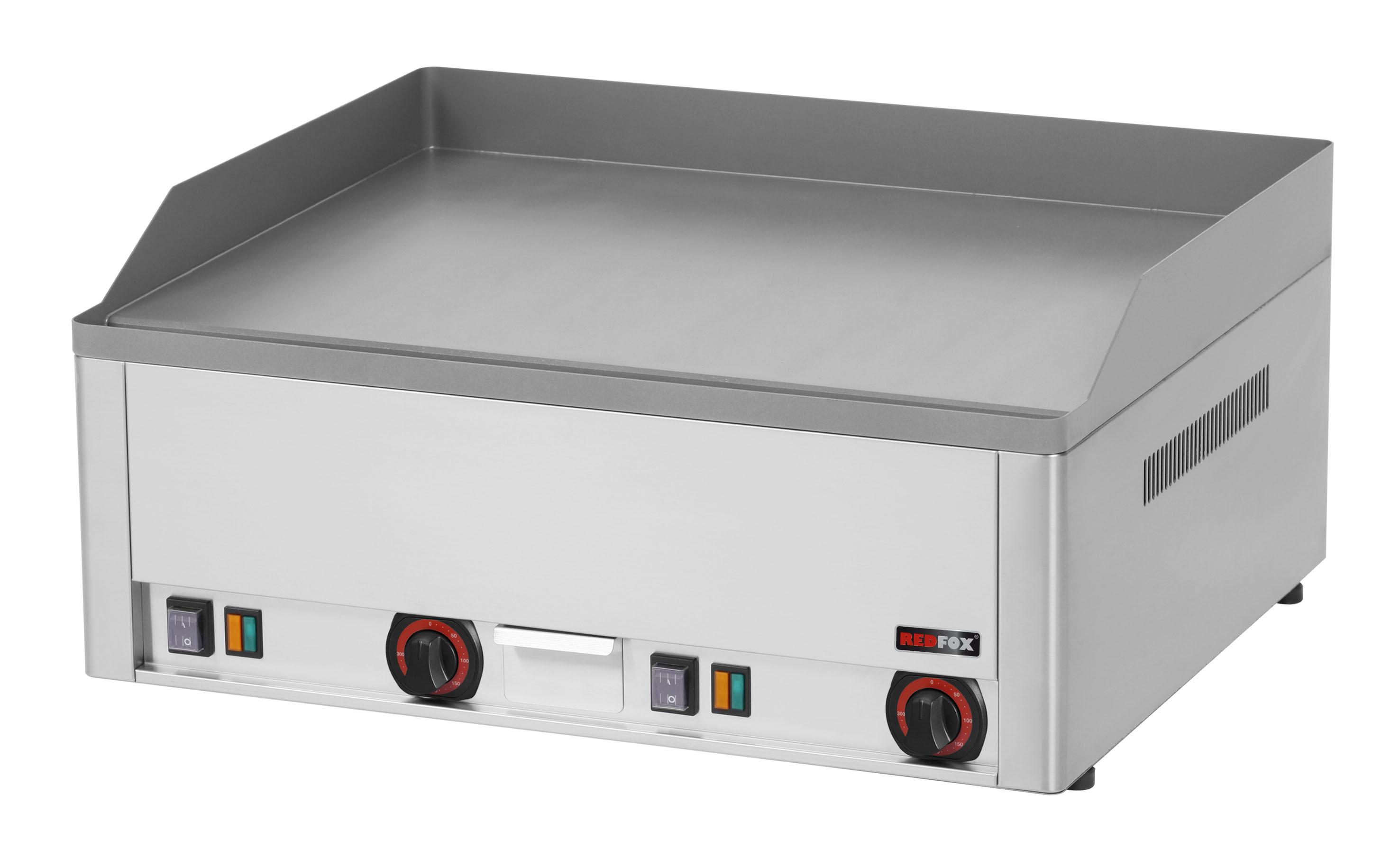 Deska grilovací elektrická FTH 60 E hladká ocelová RedFox