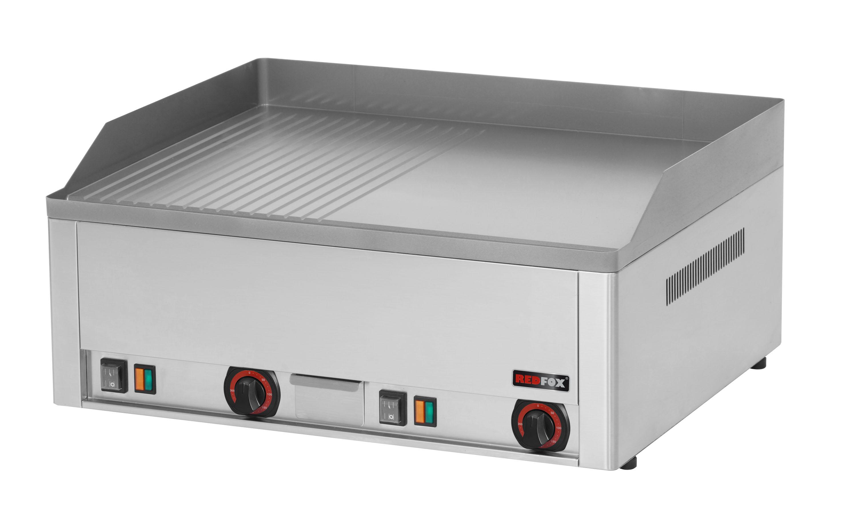 Deska grilovací elektrická FTHR 60 E kombinovaná ocelová REDFOX