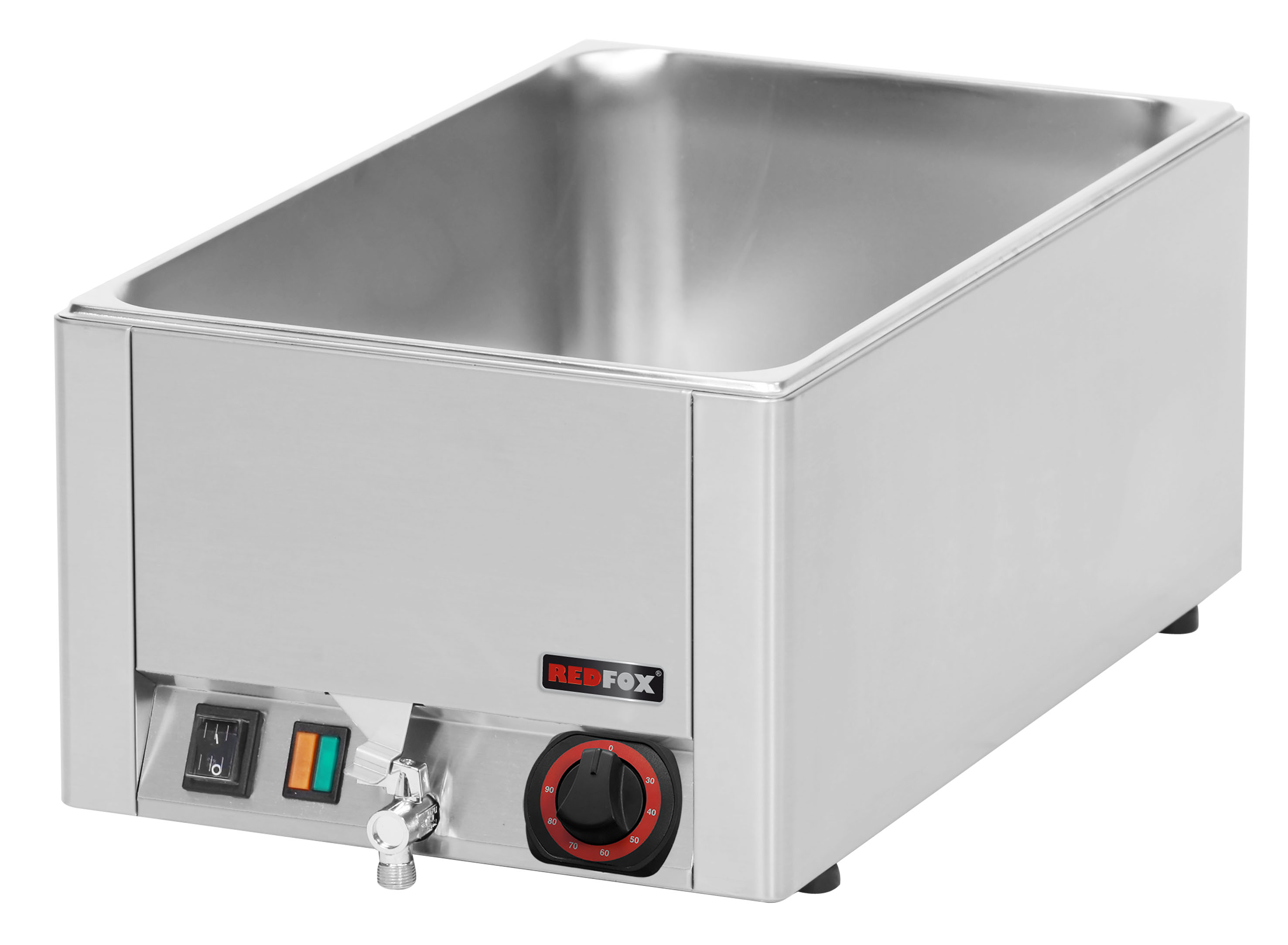 Lázeň vodní elektrická BMV 1115 GN1/1 s výpustí RedFox