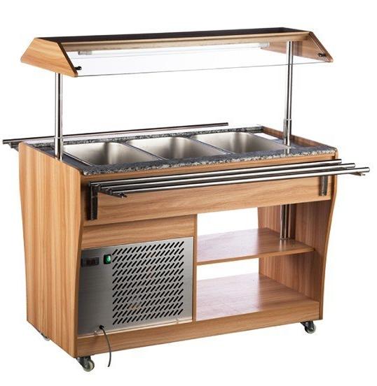 Salátový bar RTS 1210 L chlazený