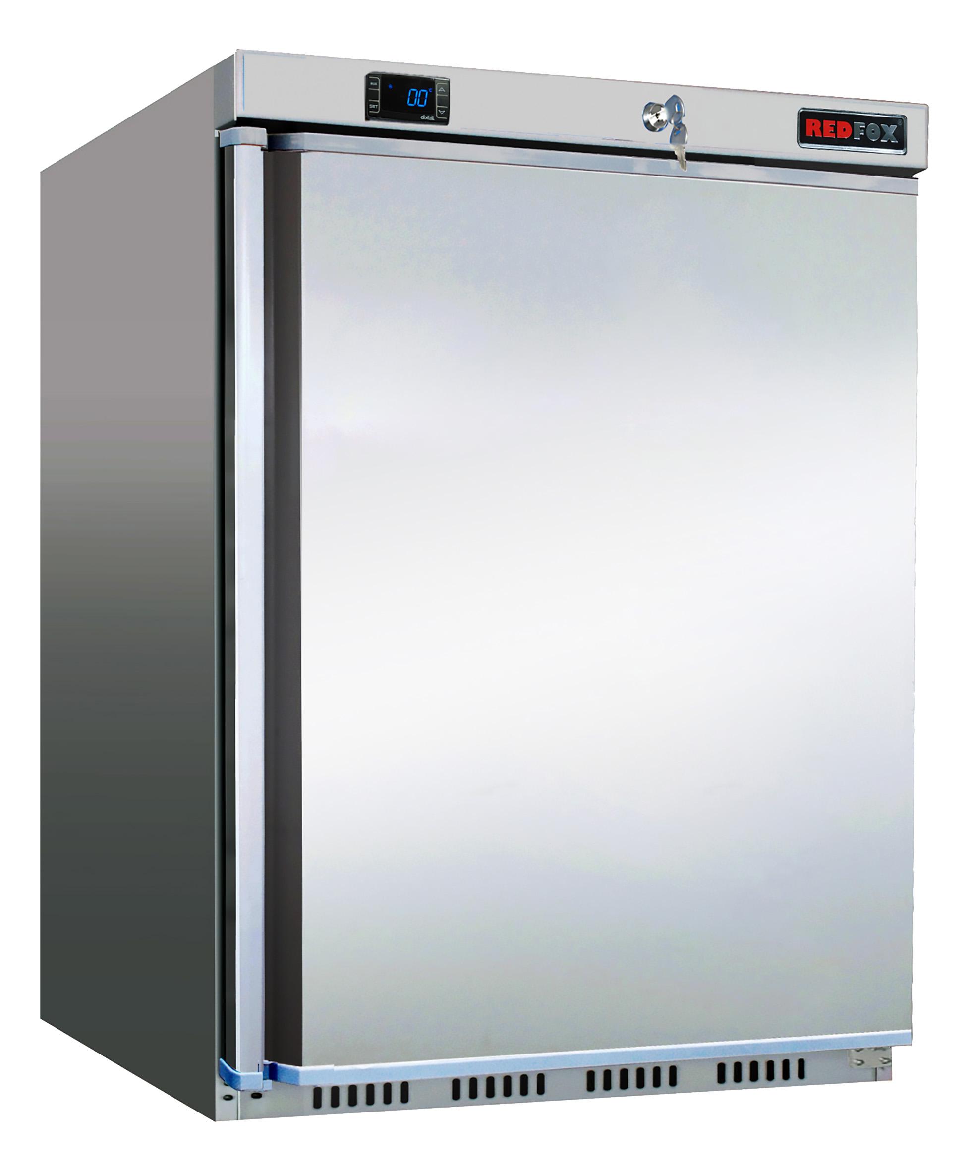 Skříň mrazící HF 200/S mraznice malá nerezová REDFOX
