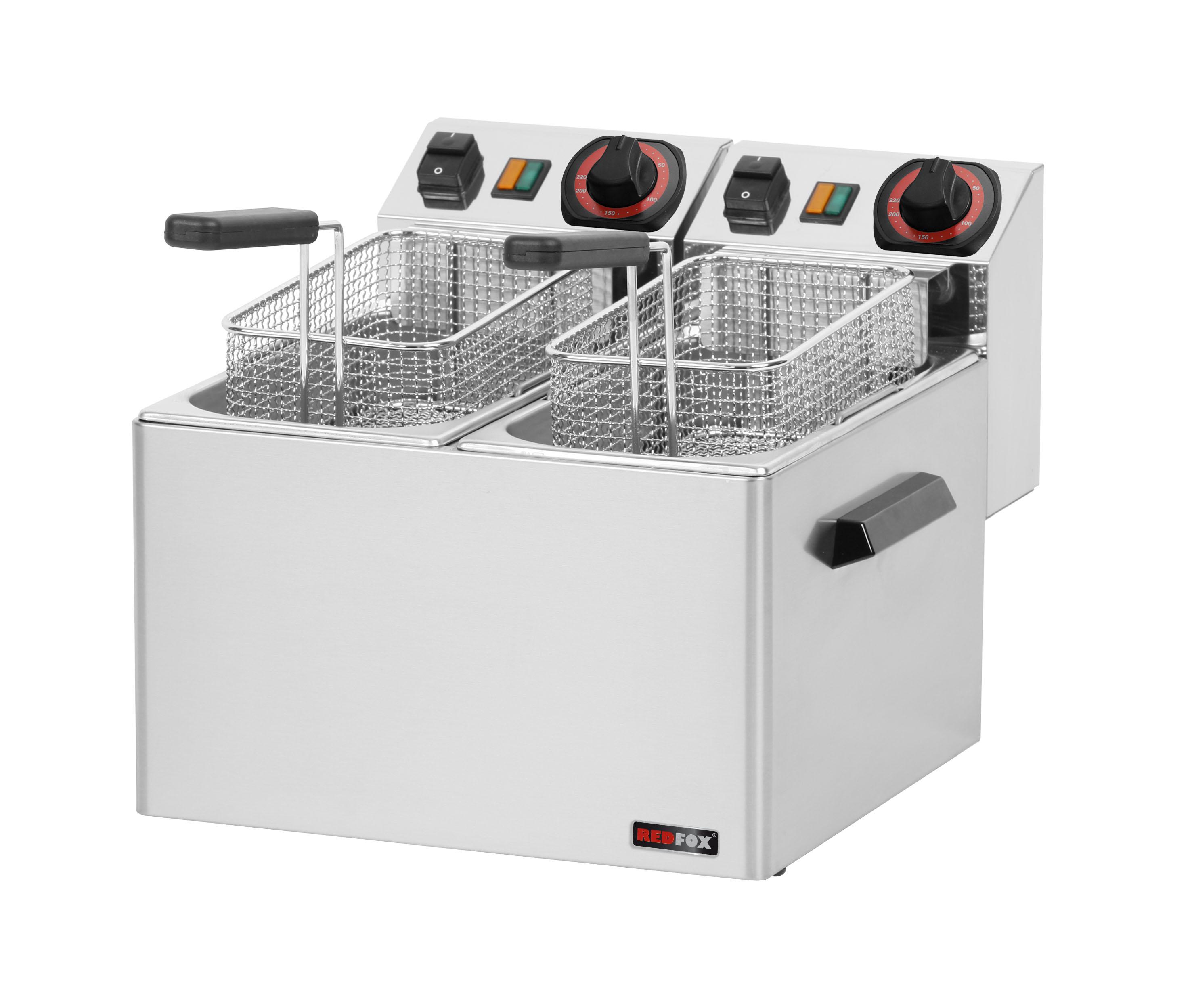 Fritéza elektrická 2x 5 l FE 44 S vyšší výkon REDFOX