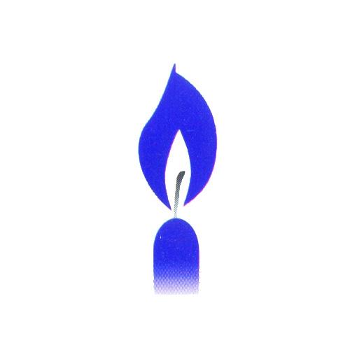 D-Svíčky -modré  10ks /31103