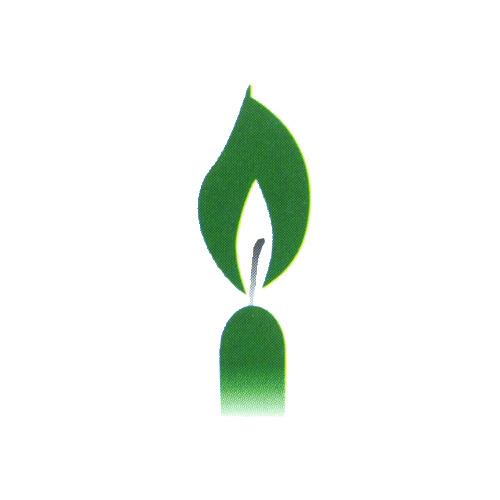 D-Svíčky -zelené  10ks /31106