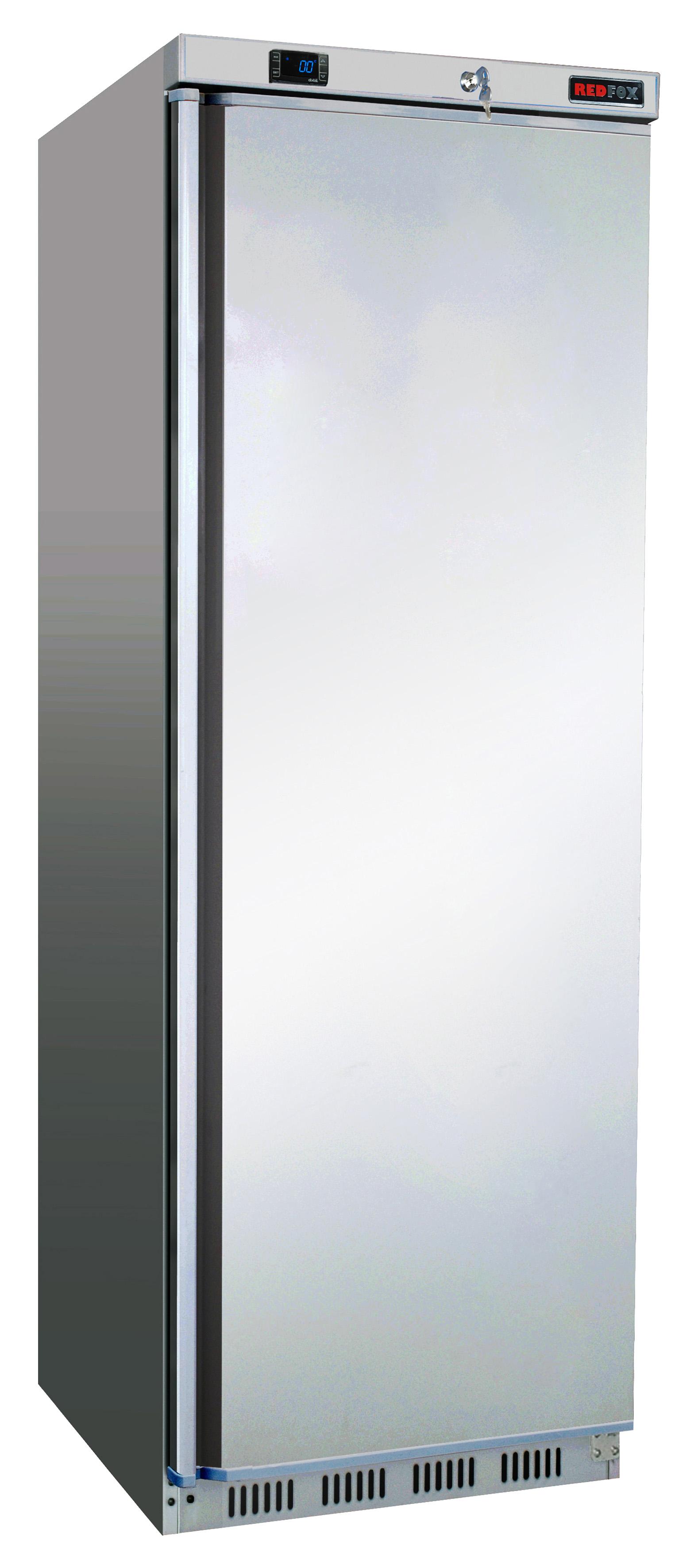 Skříň chladící DR 400 S lednice nerezová REDFOX