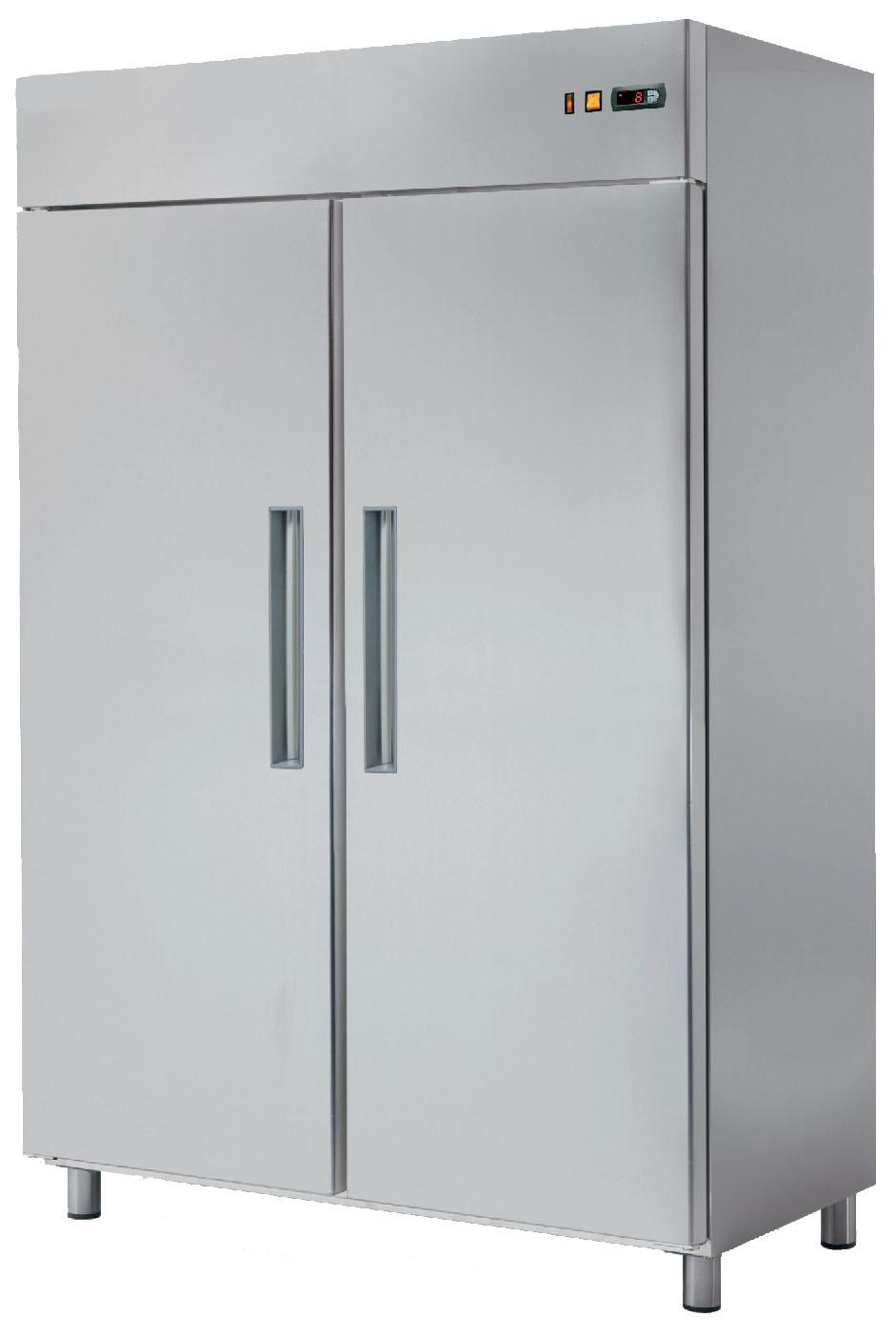 Skříň chladící RT 1402L lednice nerezová REDFOX