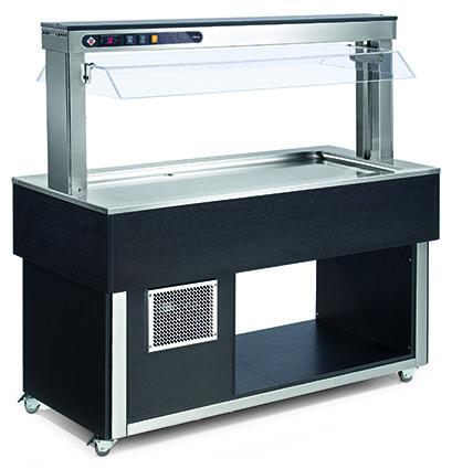 Bufety chlazené TR LIME+ 4 W