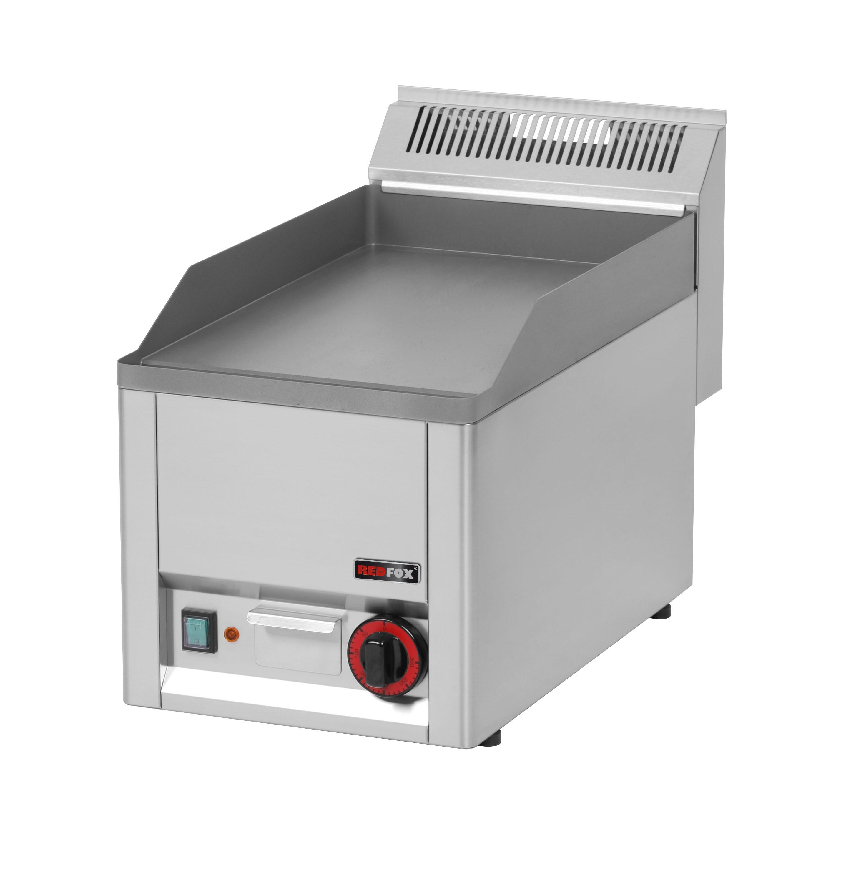 Deska grilovací elektrická FTH 30 EL hladká REDFOX