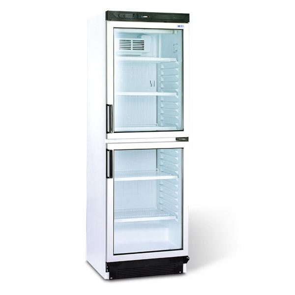 Skříň chladící FS2380 / 2x sklo