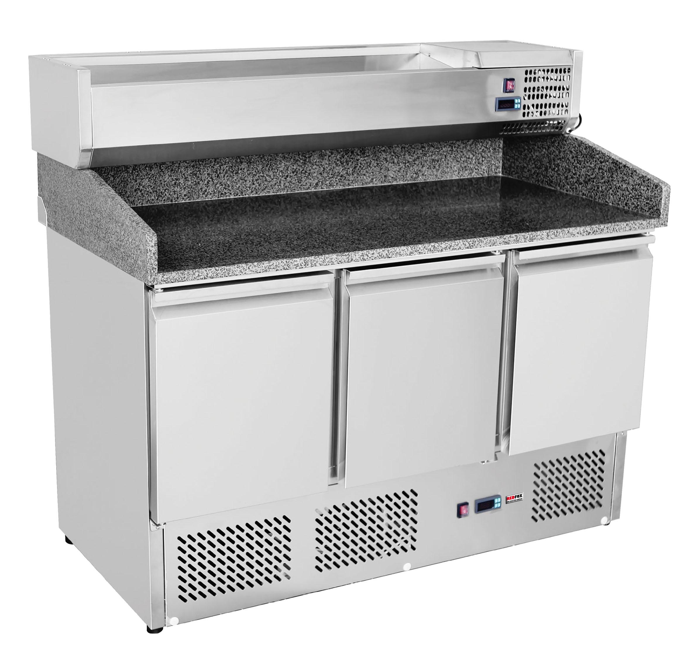 Stůl chlad.pizza 3D /SP-903