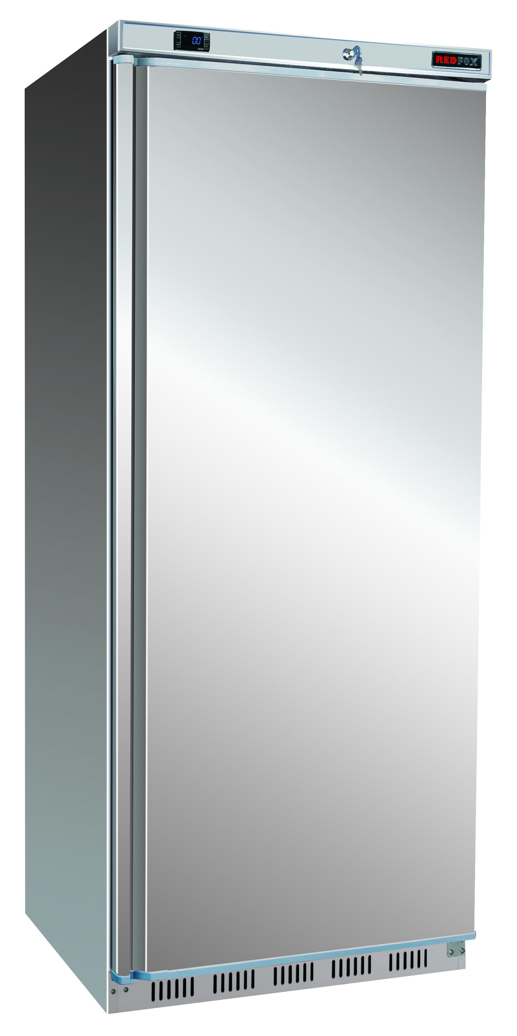 Skříň chladící HR 600/S lednice nerezová REDFOX