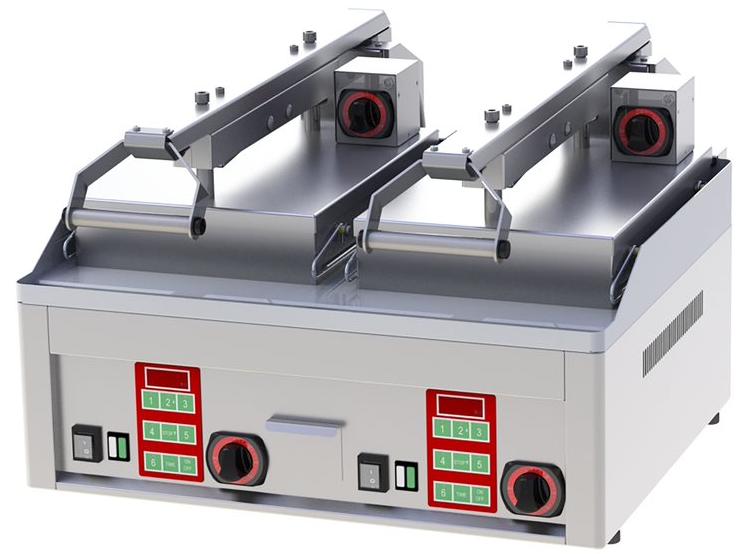 Gril steak poloautomatický KDA 66 ED kontaktní elektrický REDFOX