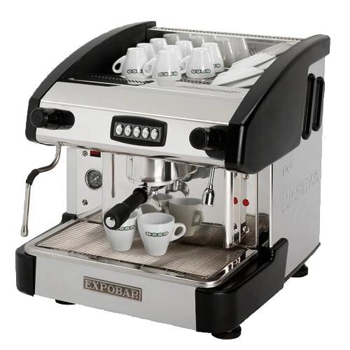 Kávovar EMC 1P/B/C jednopákový černý REDFOX