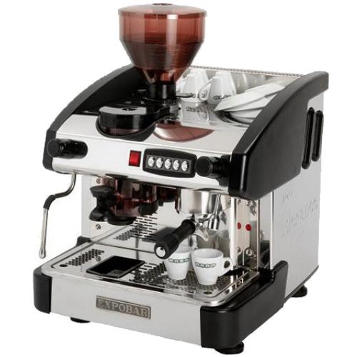 Kávovar EMC 1P/B/M/C jednopákový černý REDFOX