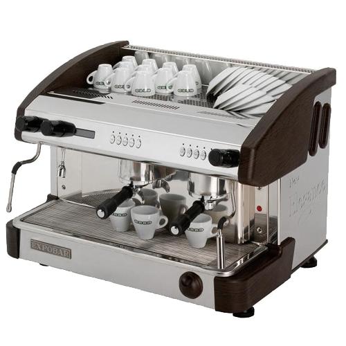 Kávovar EC 2P/B/D/C dvoupákový černý REDFOX