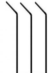 Slámka černá  250ks /100003966